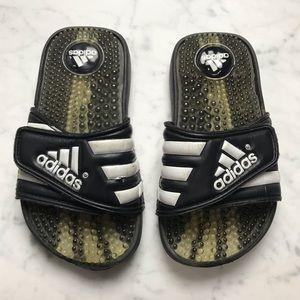 349a99ec7847 adidas Adissage Slip On Athletic Sandals Slides